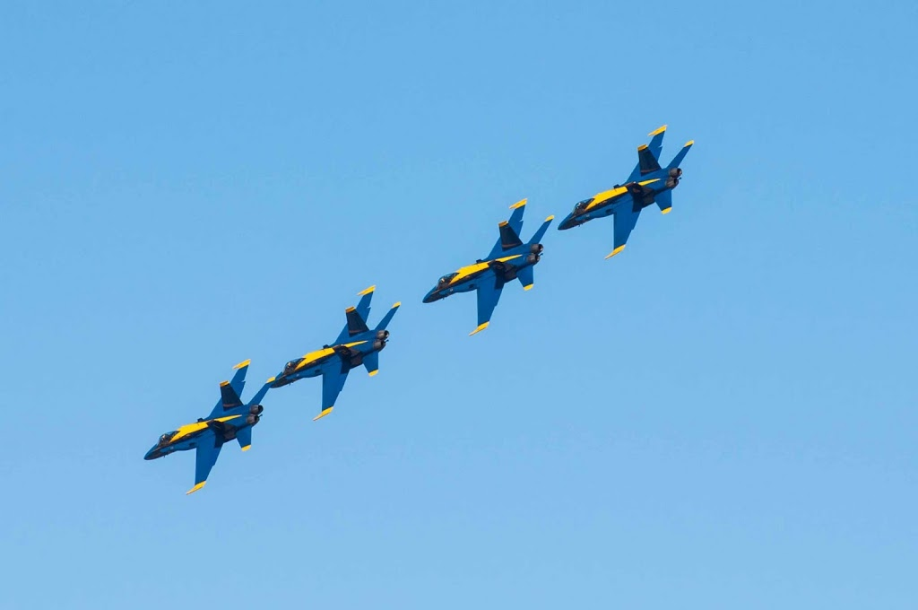 Blue Angels in SF