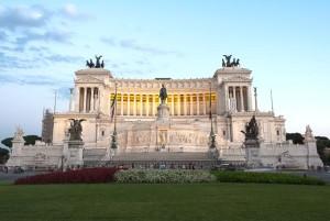 Altare della Patria in Piazza Venezia, Roma.