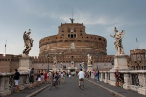 Castel St. Angelo and the Angel Bridge