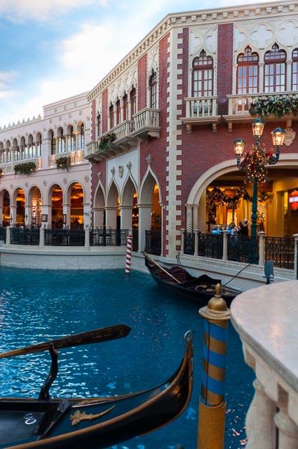 Inside the Venetian Hotel and Casino, Las Vegas