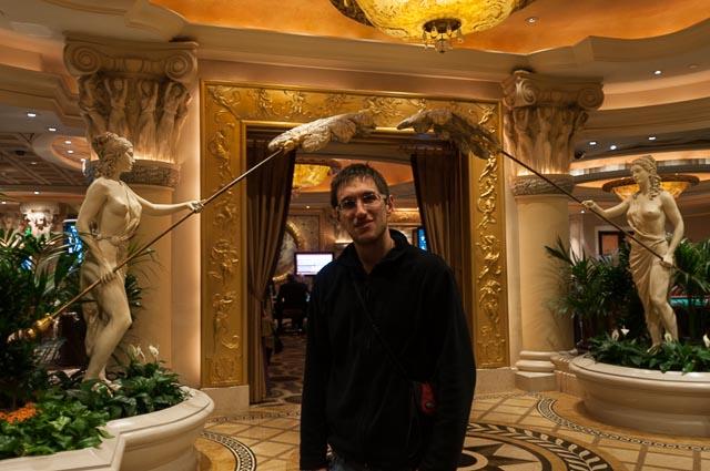 My Roman in Las Vegas's Rome. Caesars Palace, Las Vegas