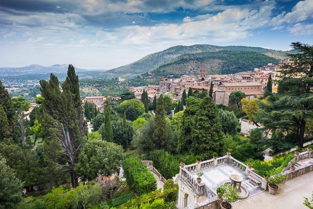 Villa d'Este and Tivoli